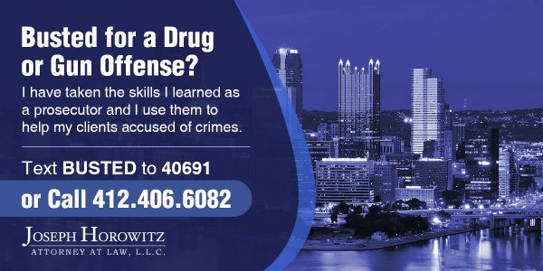 drug or gun offense1